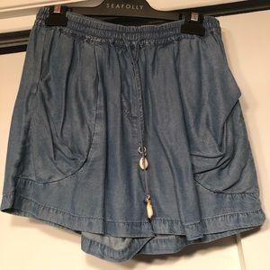 Seafolly Chambray Shorts